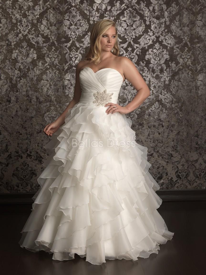 plus size wedding dresses - the curvy chateau